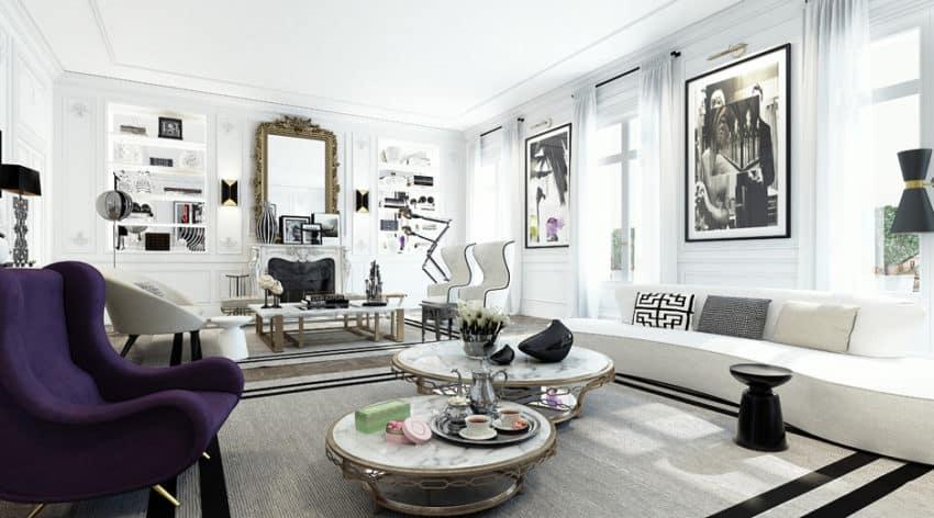 Apartment in Saint Germain by Ando Studio (5)