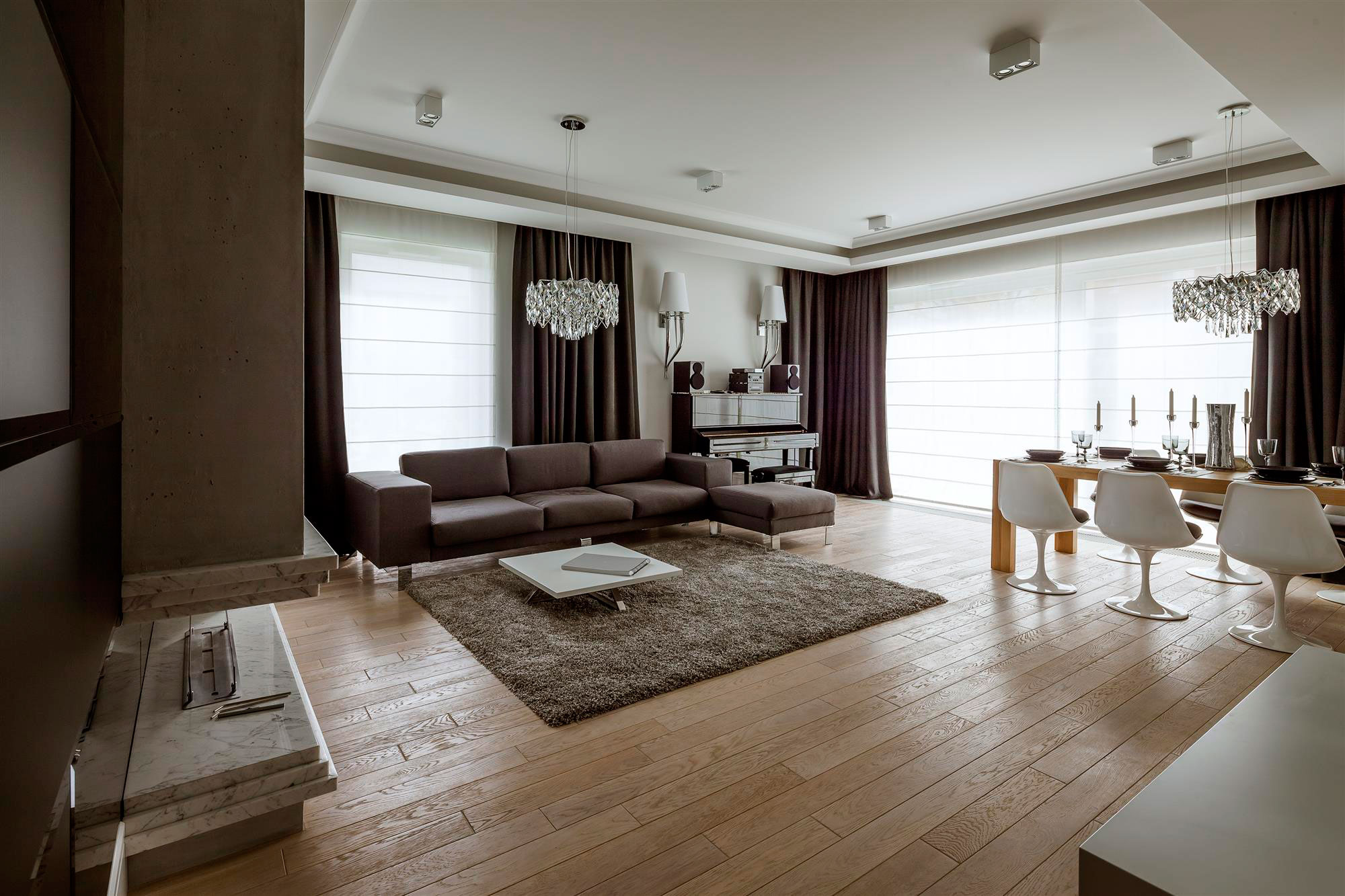 Apartment in warsaw by hola design