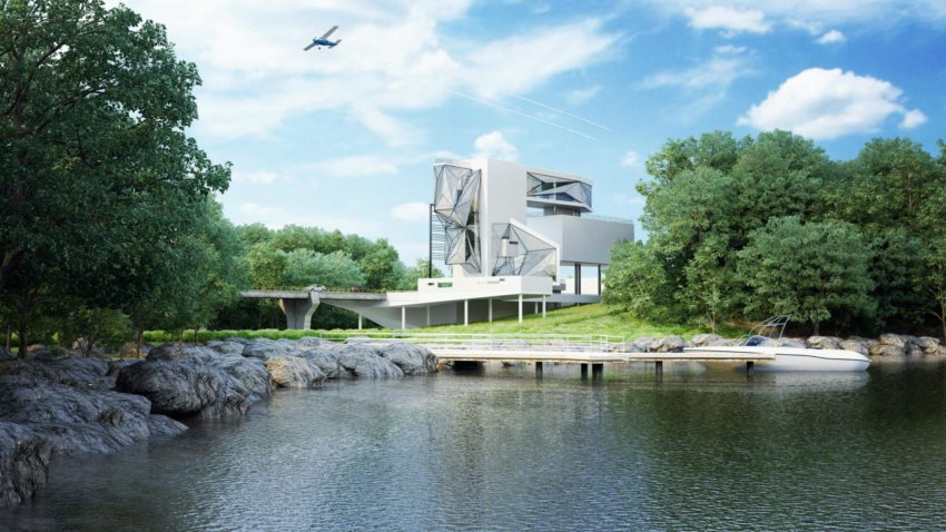 Aviator's Villa by Urban Office Architecture