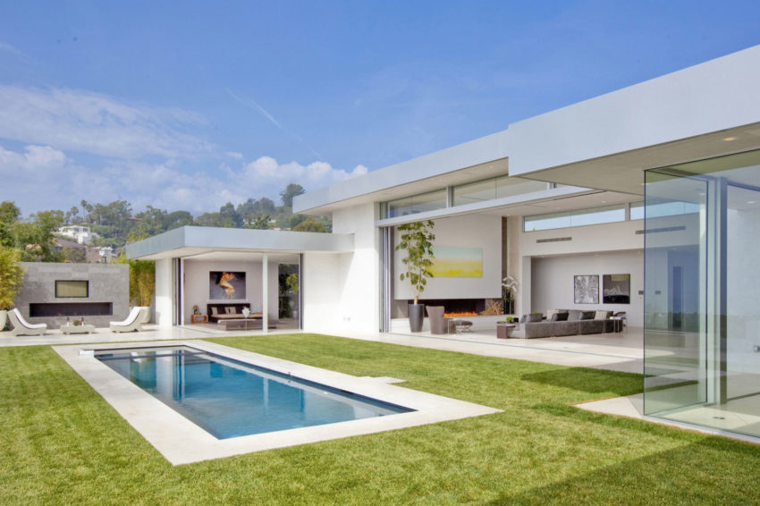 Beverly Hills House by McClean Design (2)