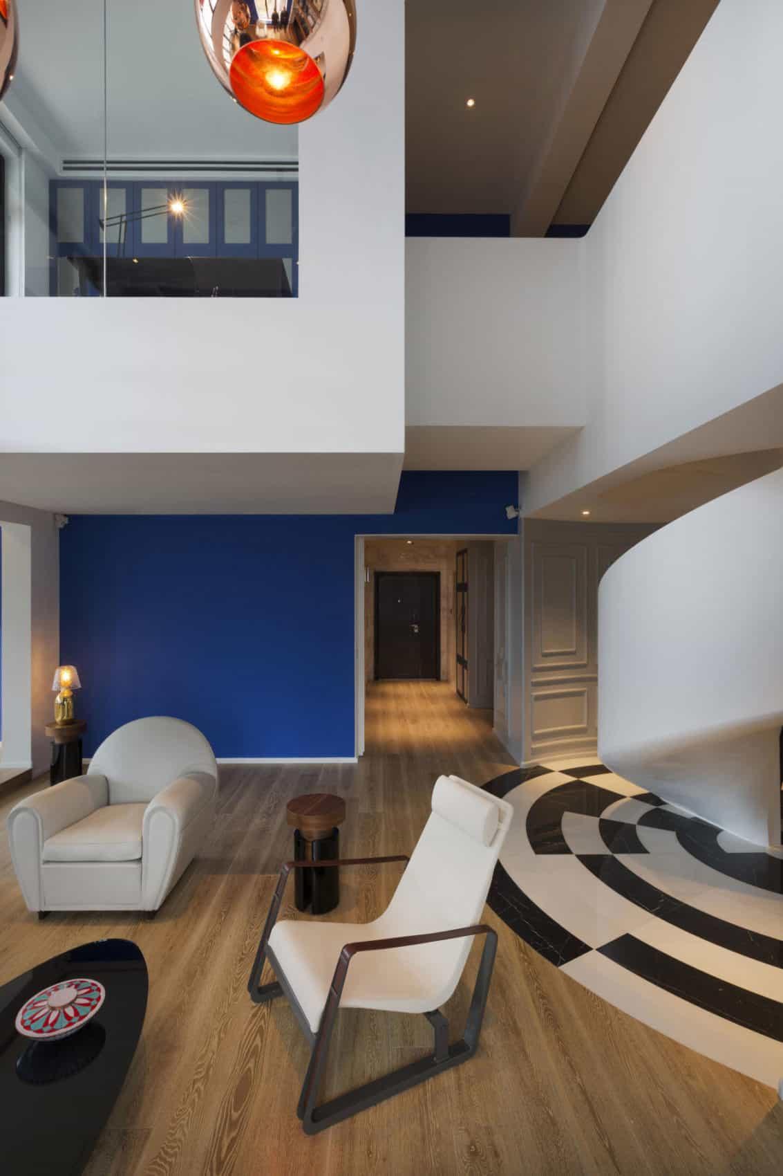 Blue Penthouse by Dariel Studio (2)