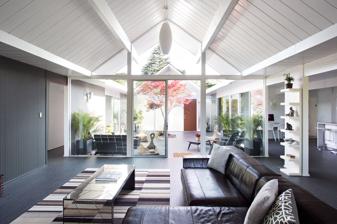 Double Gable Eichler Remodel by Klopf Architecture (5)