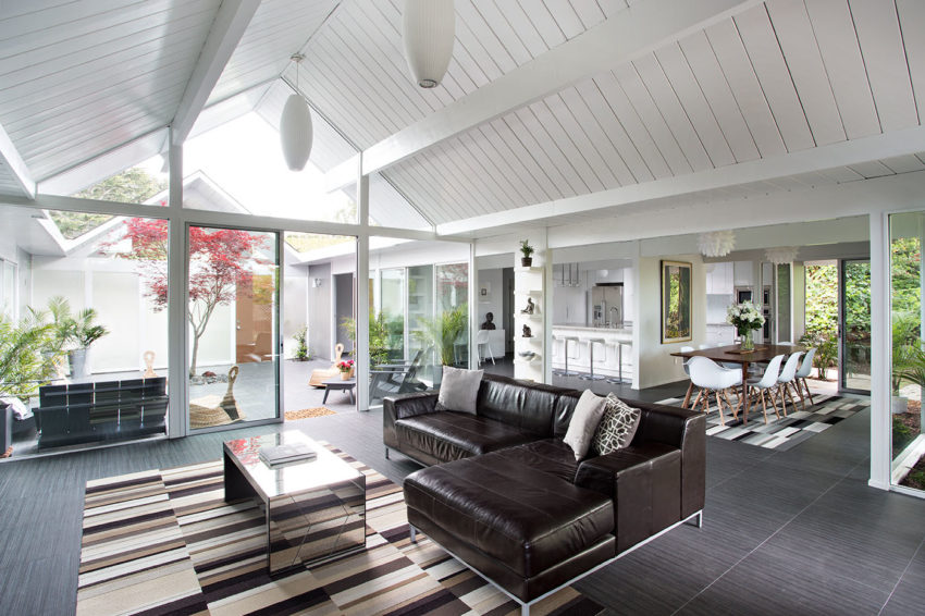 Double Gable Eichler Remodel by Klopf Architecture (7)