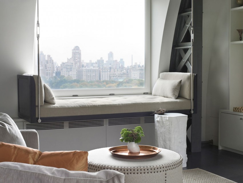 Central Park West Penthouse by Foley Fiore Architecture (5)