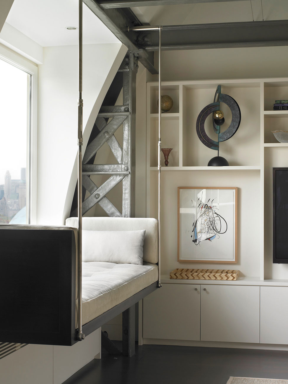 Central Park West Penthouse by Foley Fiore Architecture (6)