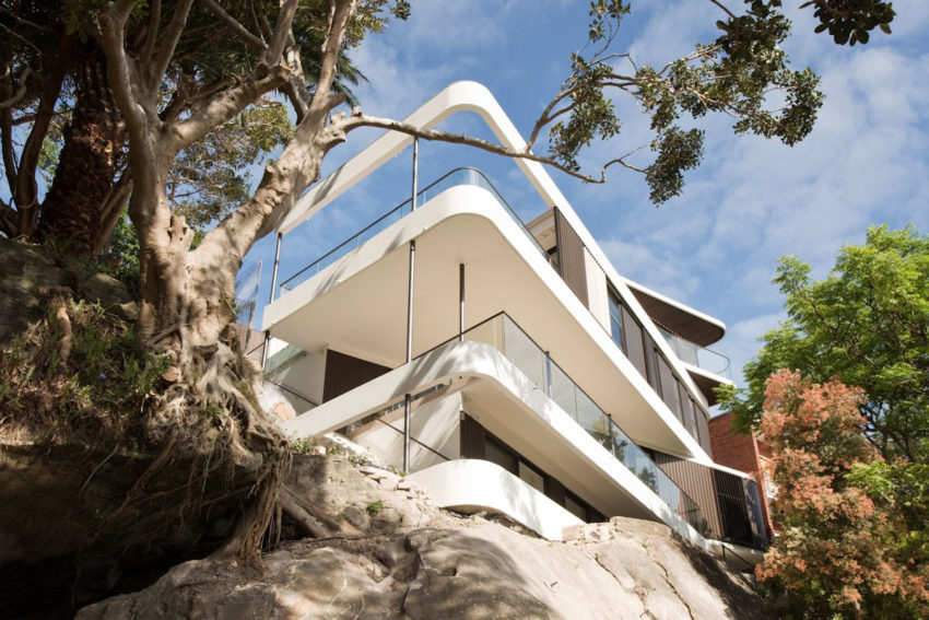 Cliff Top House by Luigi Rosselli Architects (2)