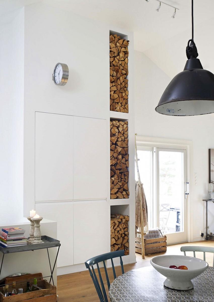 Scandinavian design home of an interior designer in oslo for Interieur steen