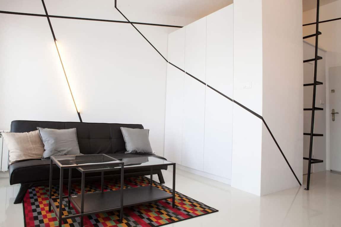 Minimalist Apartment in Lazarz by Mili Mlodzi Ludzie (2)