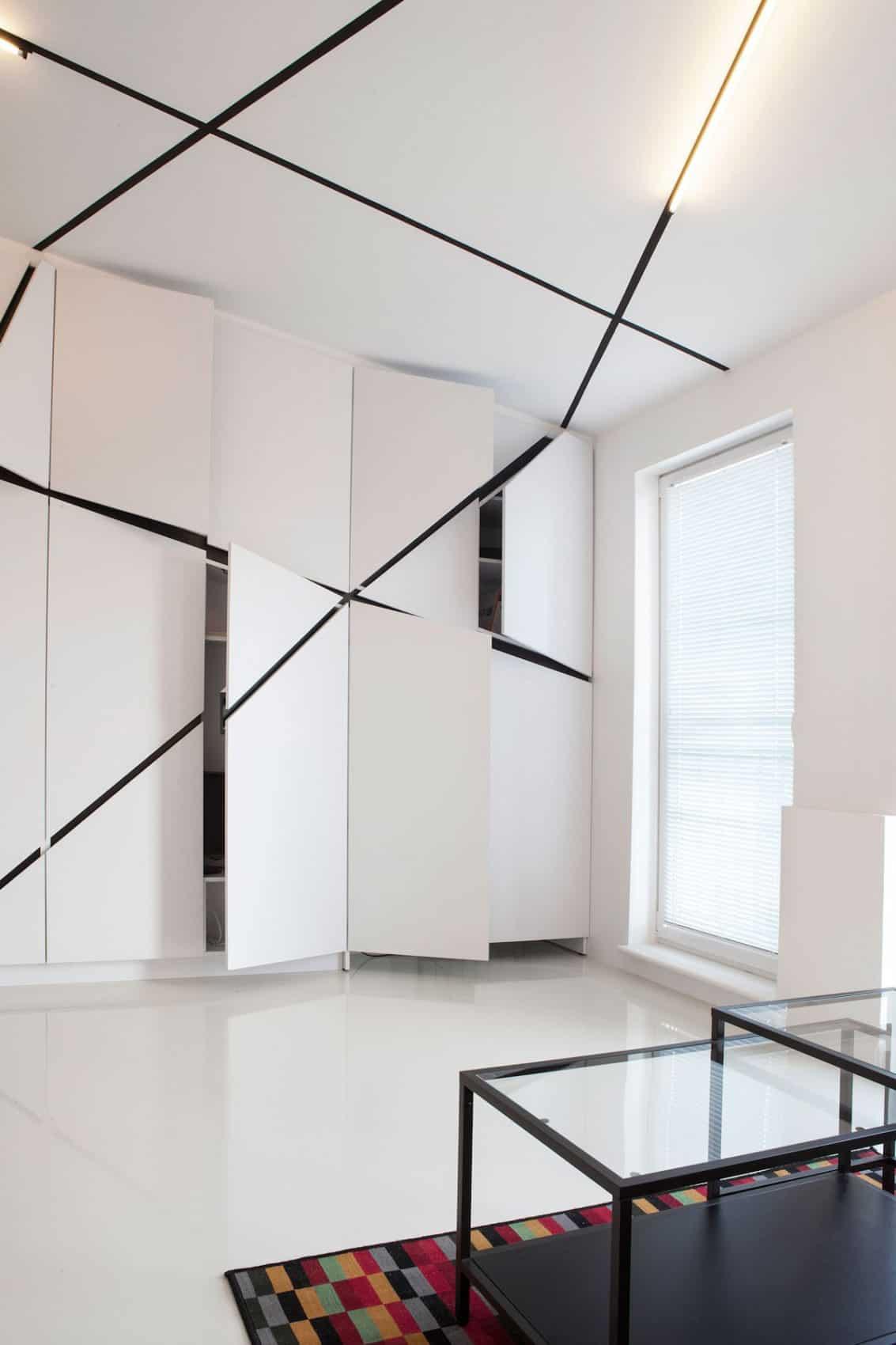 Minimalist Apartment in Lazarz by Mili Mlodzi Ludzie (5)