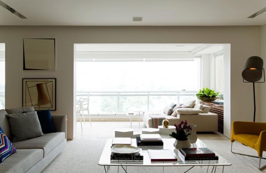 Panamby Apartment by Diego Revollo Arquitetura (1)