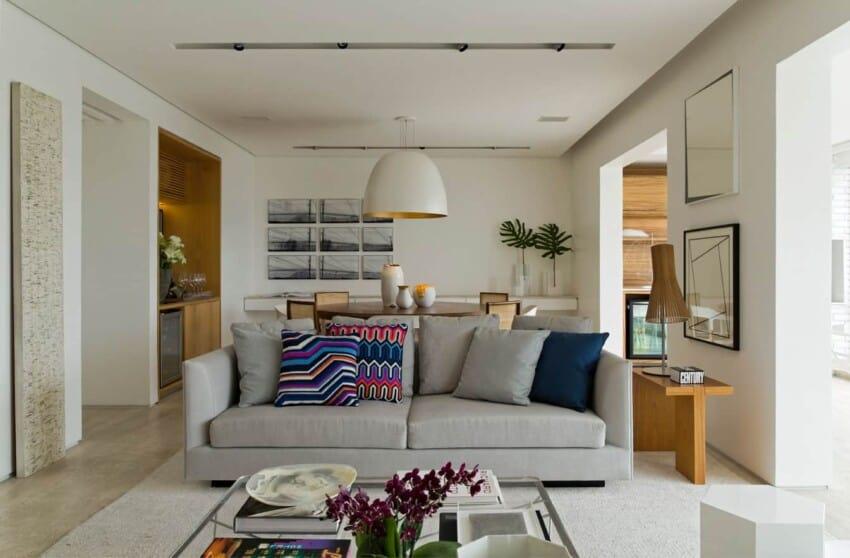 Panamby Apartment by Diego Revollo Arquitetura (3)