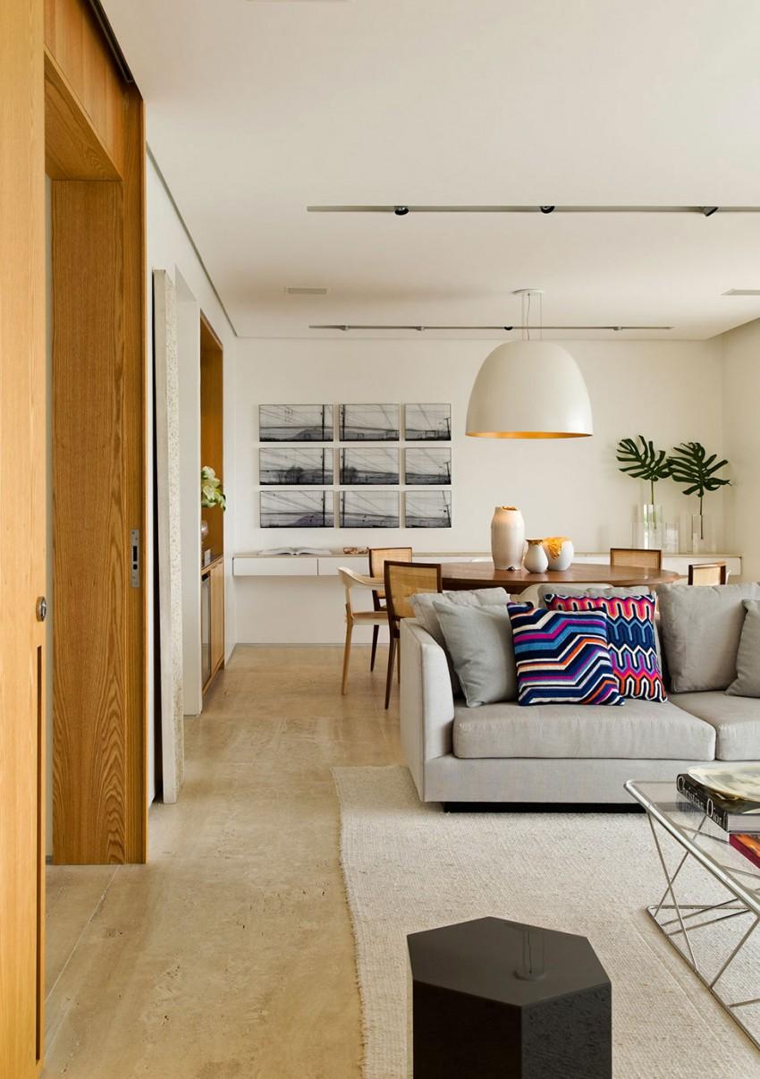 Panamby Apartment by Diego Revollo Arquitetura (5)