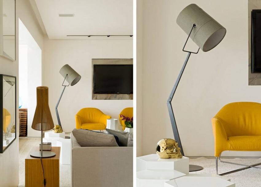 Panamby Apartment by Diego Revollo Arquitetura (8)