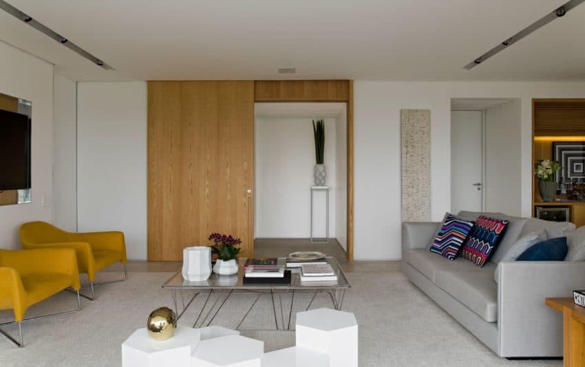 Panamby Apartment by Diego Revollo Arquitetura (9)