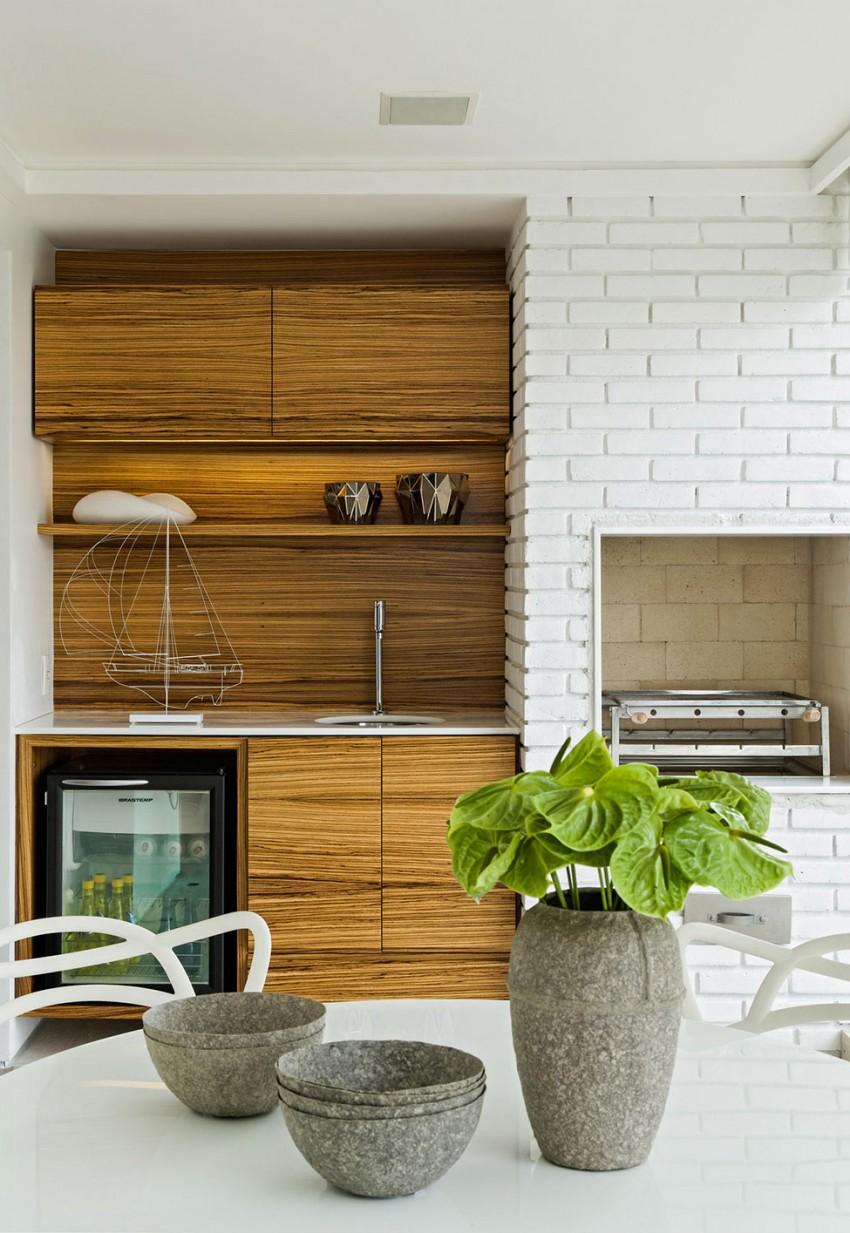 Panamby Apartment by Diego Revollo Arquitetura (11)