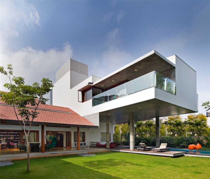 The Library House by Khosla Associates (1)