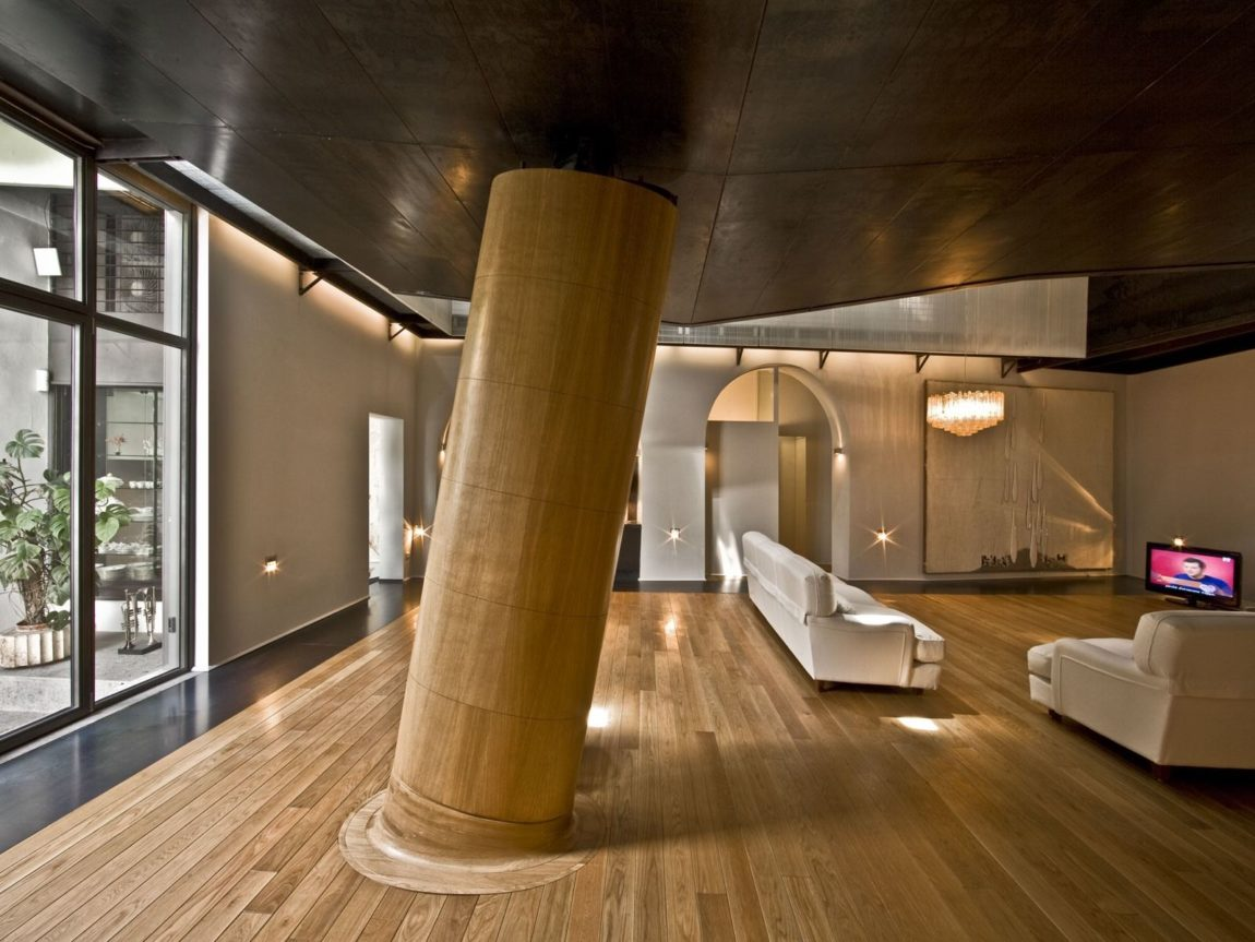 The Trastevere Loft in Rome by MdAA architects (1)