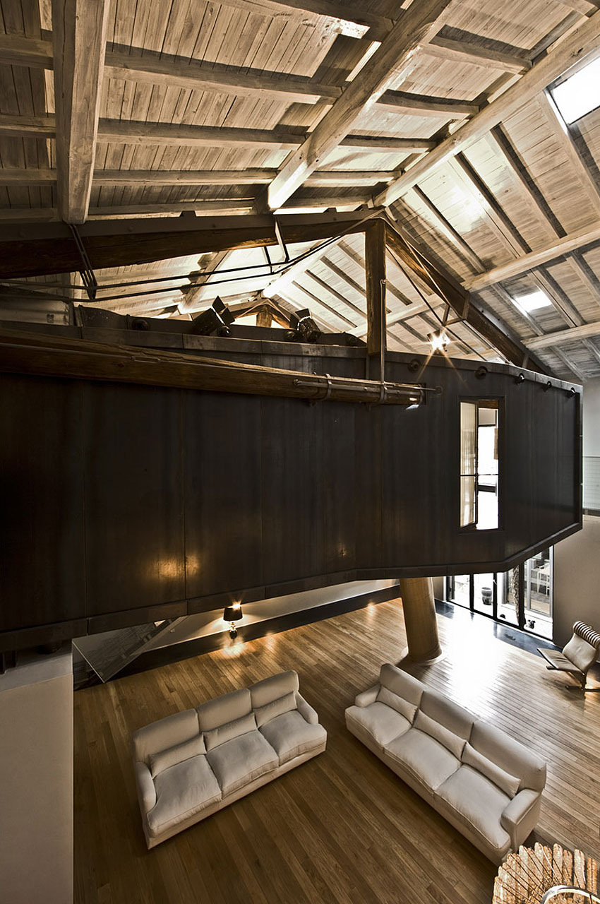 The Trastevere Loft in Rome by MdAA architects (11)