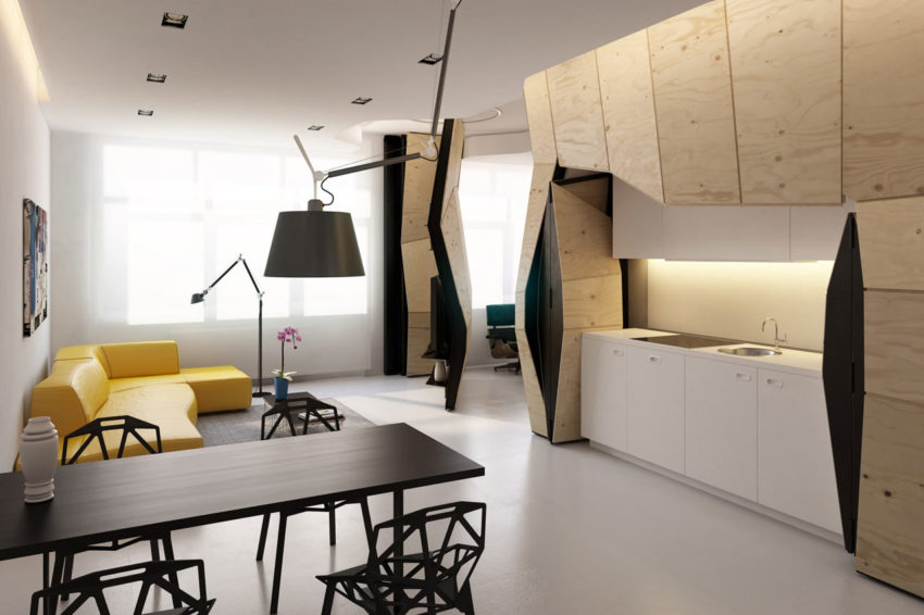 Transformer Apartment by Vlad Mishin (4)