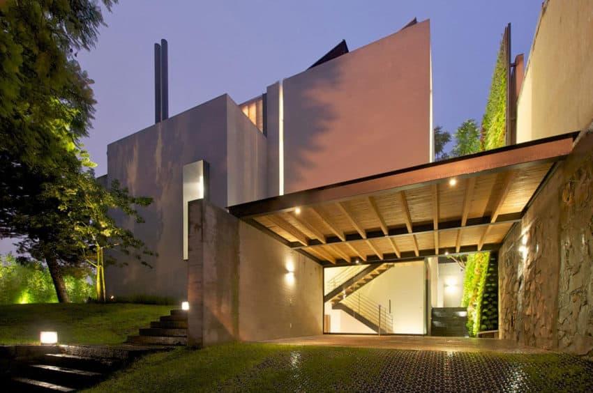 Casa Jacarandas by Hernandez Silva Arquitectos (22)