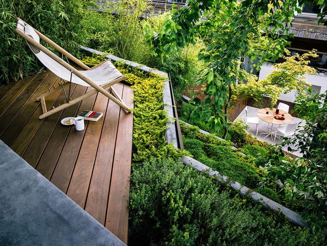 Hilgard Garden by Mary Barensfeld Architecture