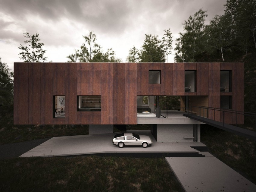 House for a Photographer by Hyde+Hyde Architects (3)