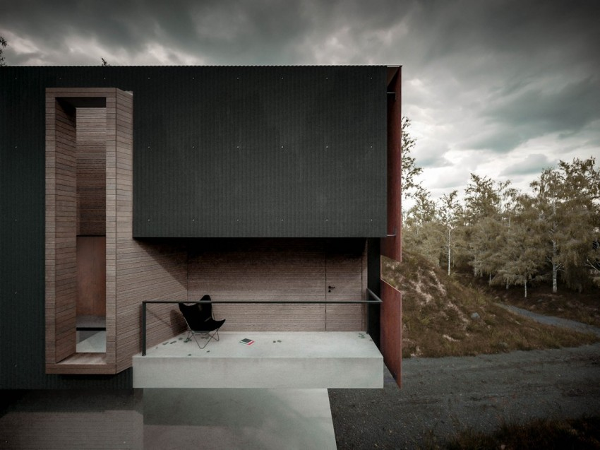 House for a Photographer by Hyde+Hyde Architects (6)