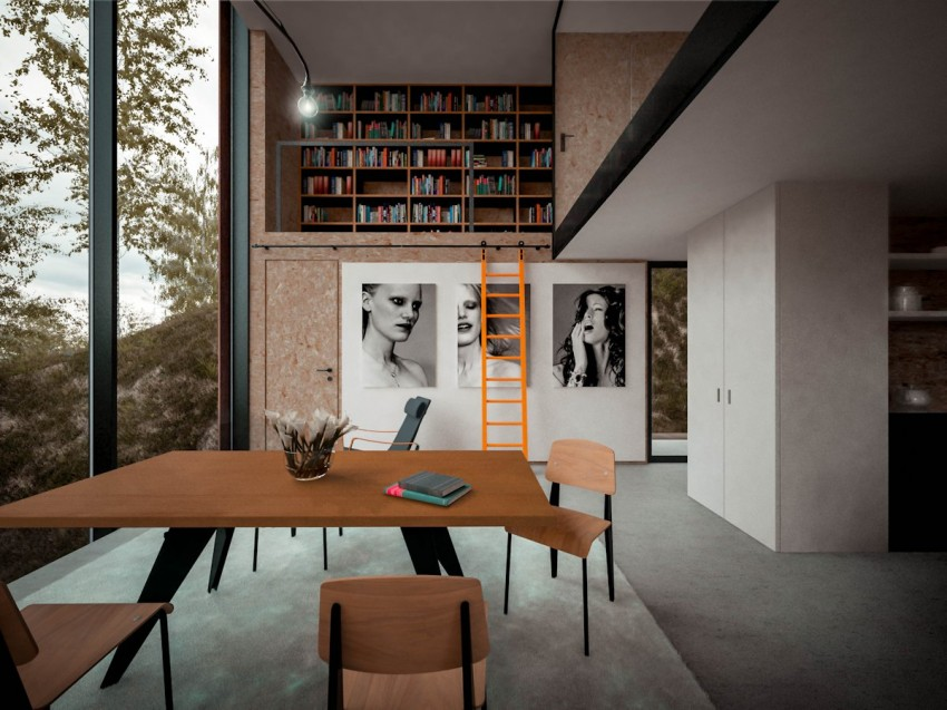 House for a Photographer by Hyde+Hyde Architects (8)