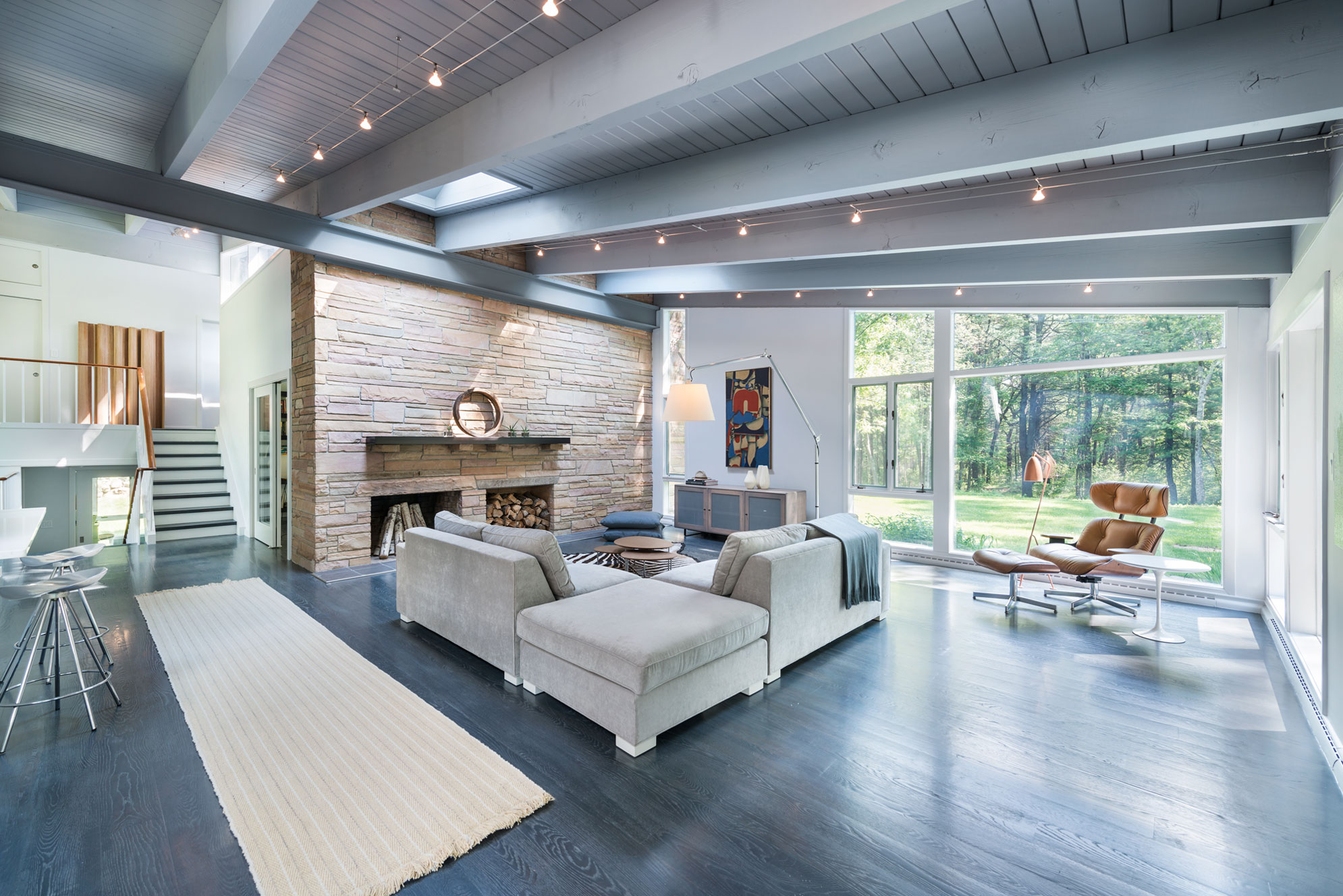 mid century modern in lincoln by flavin architects - Mid Century Modern Home Plans