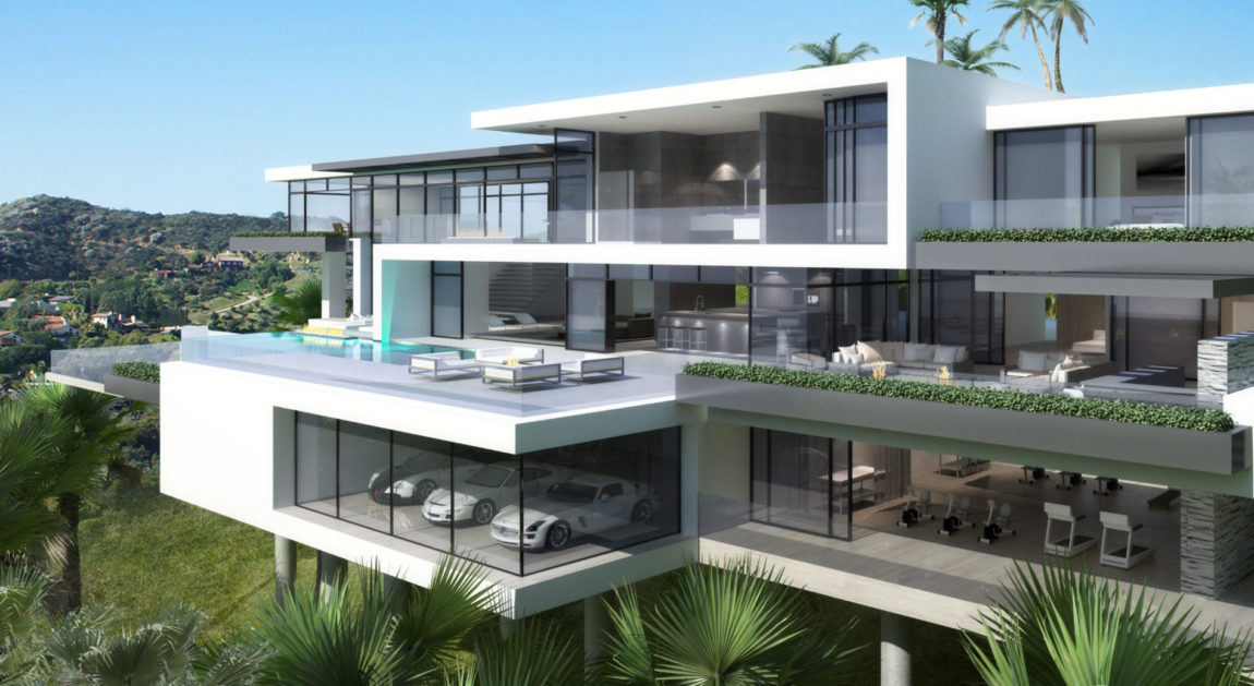 Two Modern Mansions on Sunset Plaza Drive in LA (6)