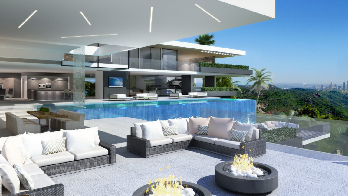 Two Modern Mansions on Sunset Plaza Drive in LA (9)