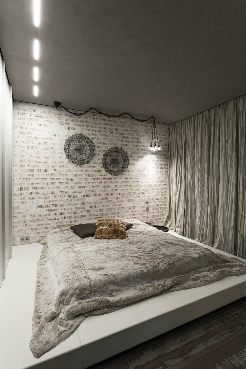 Studio Apartment in Moscow by Dina Mezhevova (8)