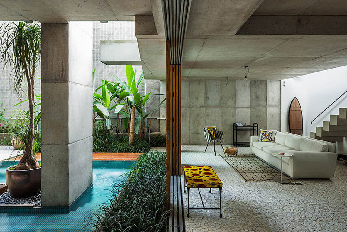 Weekend House in Downtown São Paulo by SPBR (28)