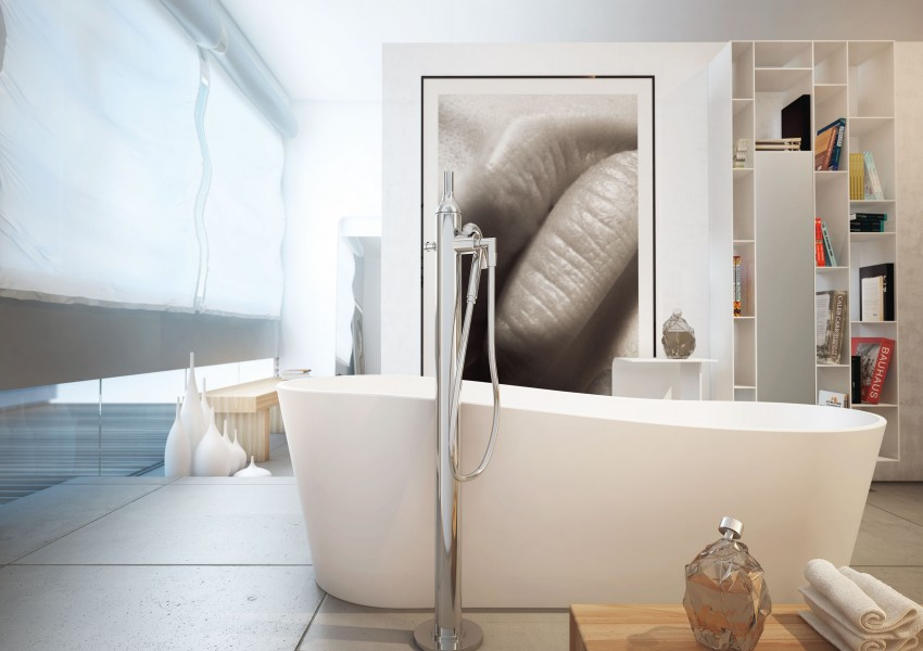 Modern Bathrooms by MOMA Design (2)