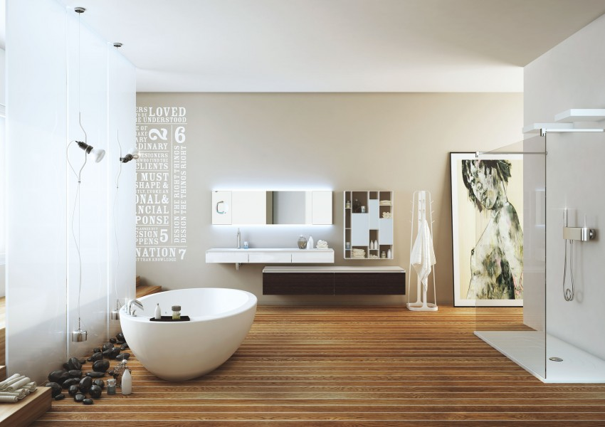 Modern Bathrooms by MOMA Design (10)