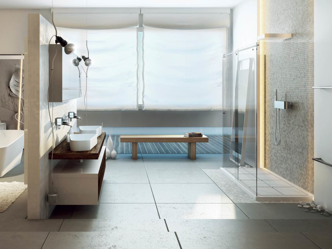Modern Bathrooms by MOMA Design (19)
