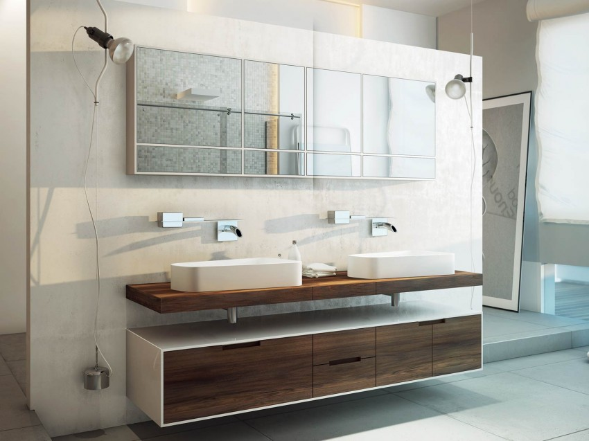 View In Gallery Modern Bathrooms By MOMA Design (22)