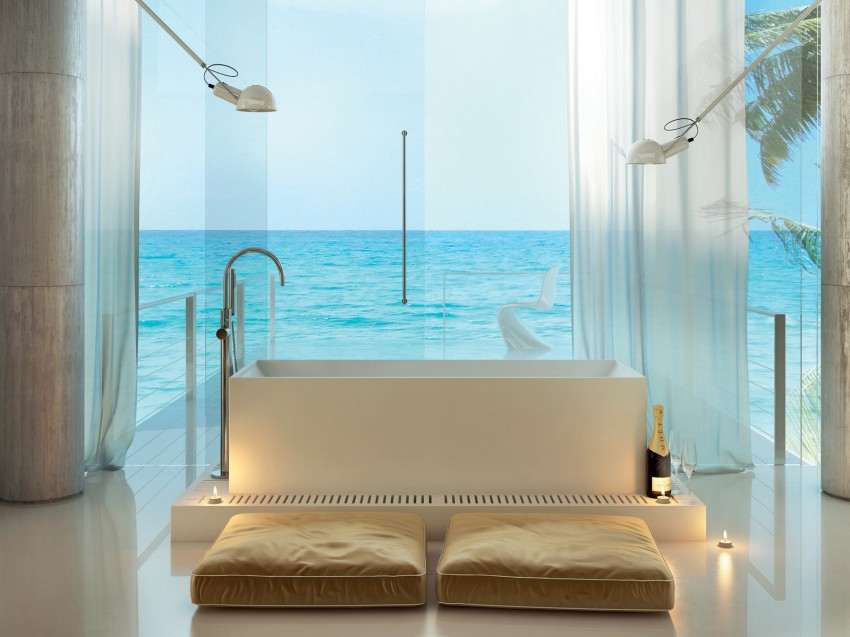 Modern Bathrooms by MOMA Design (24)