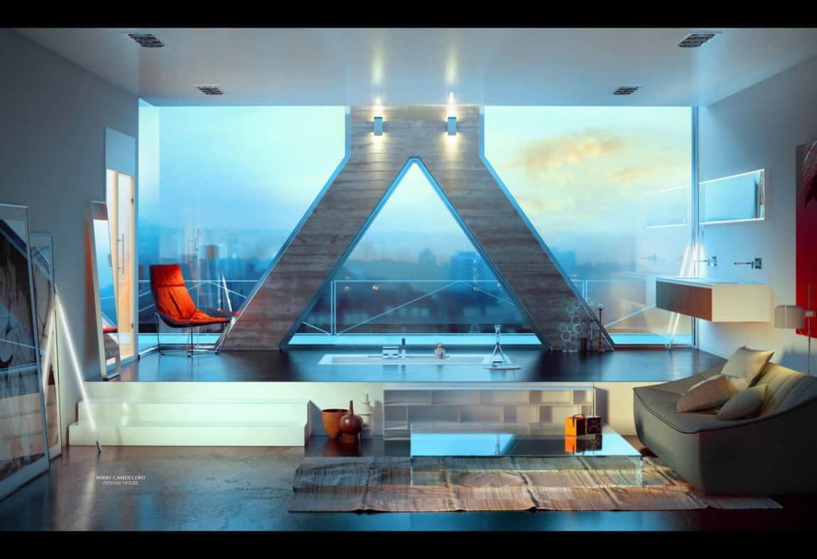 Modern Bathrooms by MOMA Design (31)