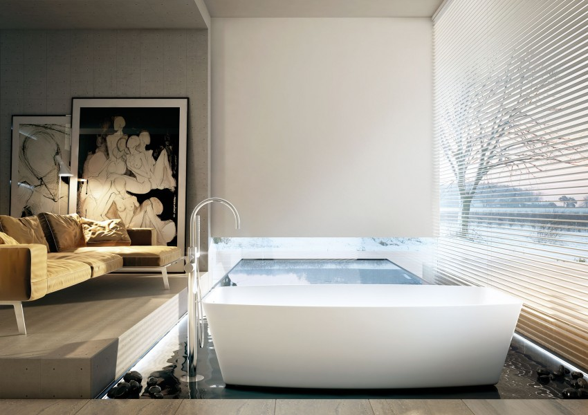 Modern Bathrooms by MOMA Design (38)