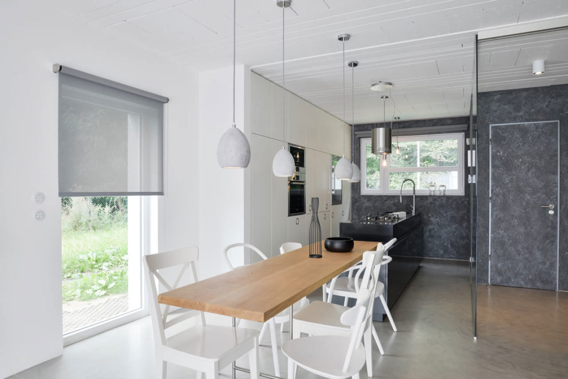 A Family Home in Black and White by oooox (4)
