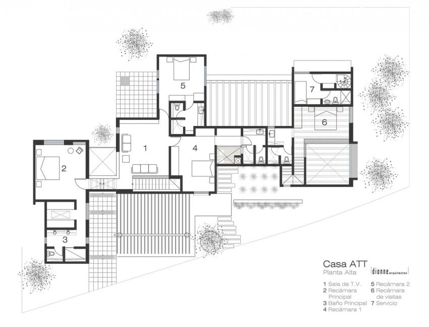 Casa ATT by Dionne Arquitectos (14)
