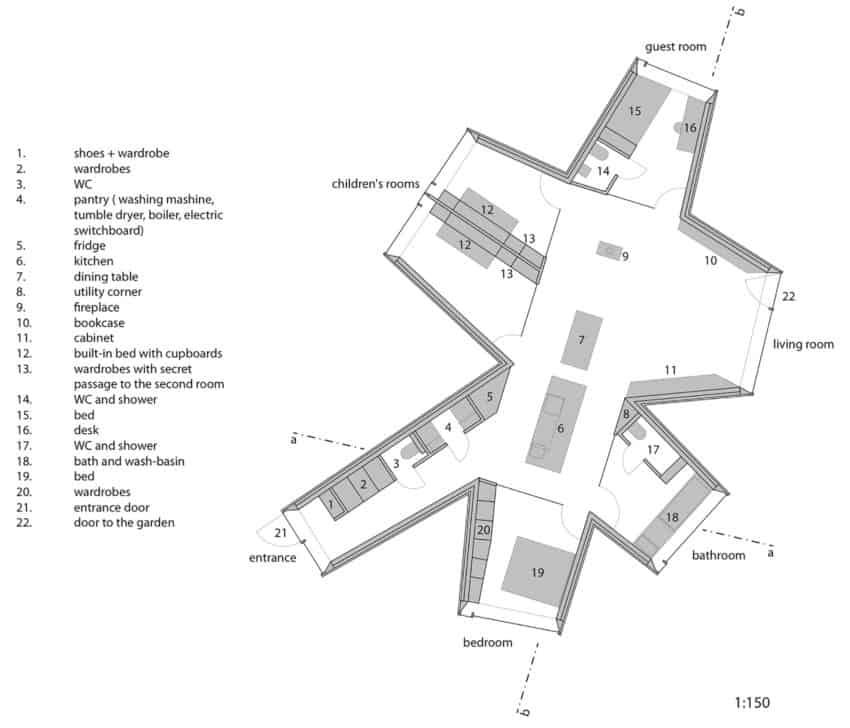 Chameleon House by Petr Hajek Architekti (11)