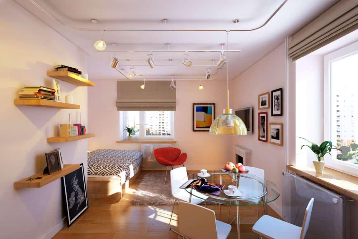 Cheerful Apartment in Lensovetovskij by Geometrium (2)