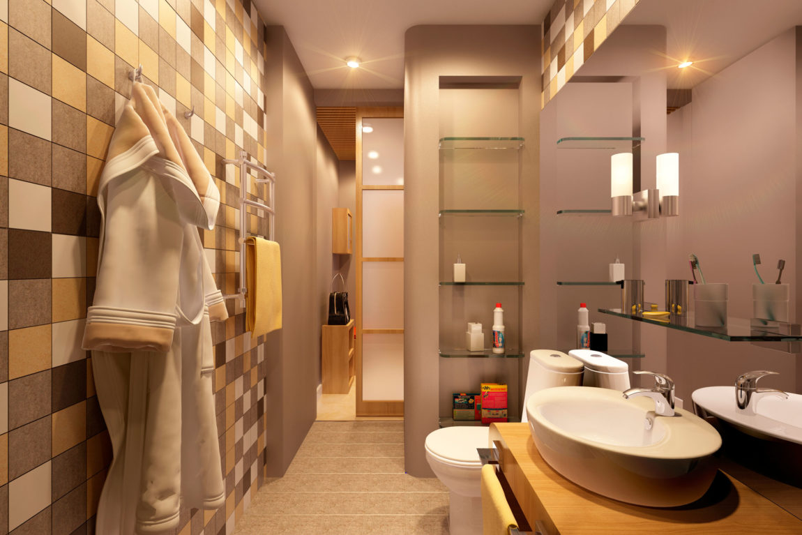 Cheerful Apartment in Lensovetovskij by Geometrium (5)