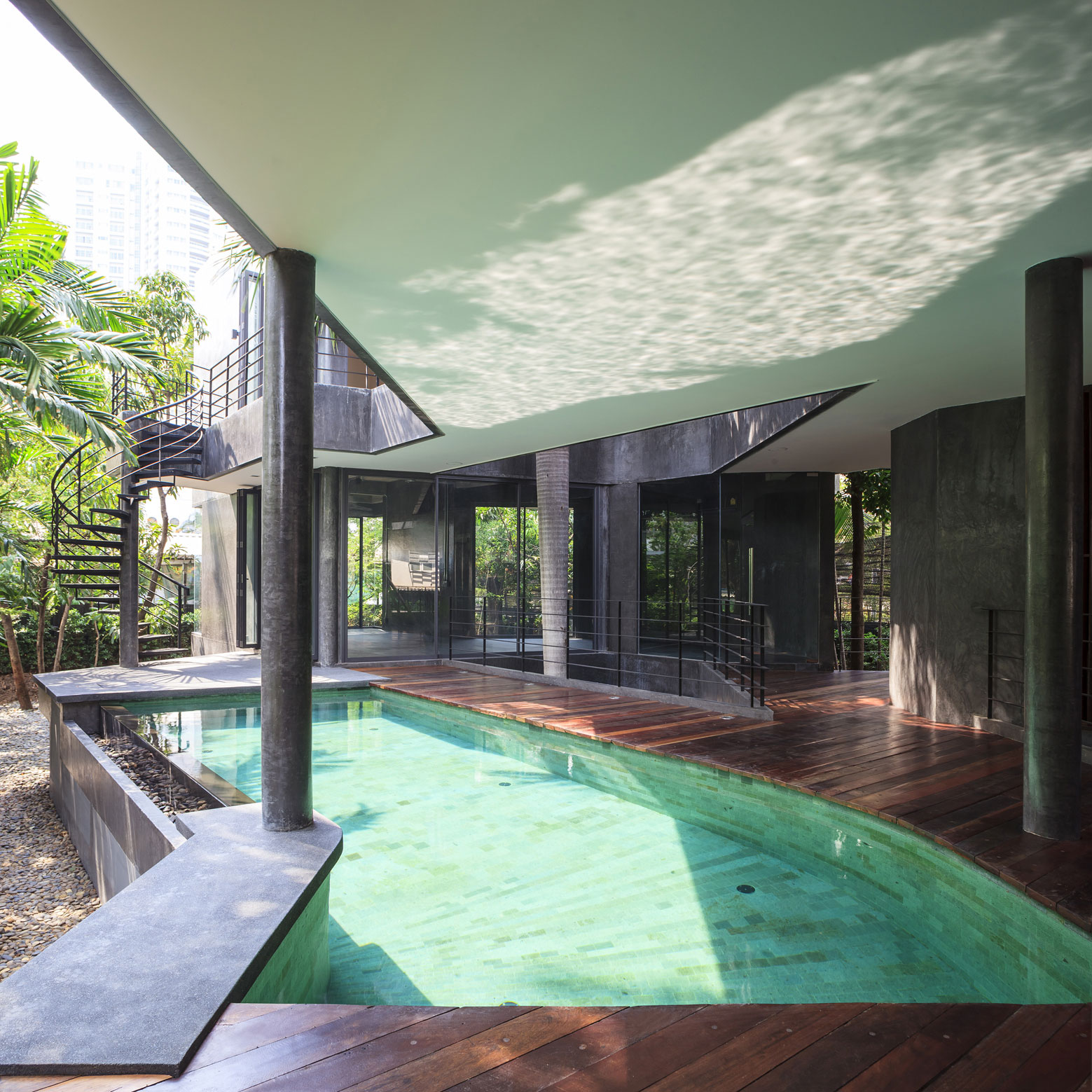 Divergence House by FOS