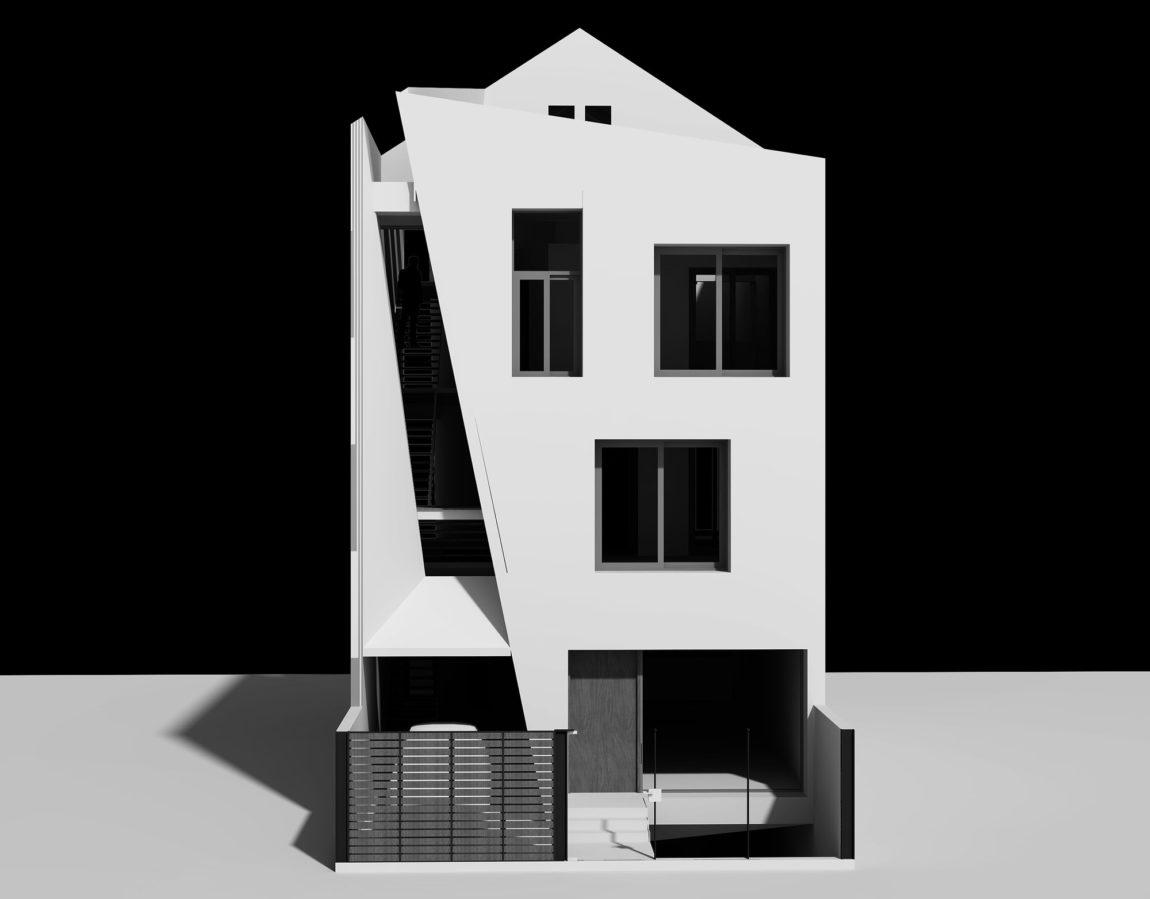 Folding Wall House by NHA DAN ARCHITECT (35)
