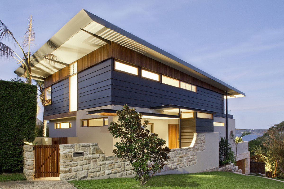Middle Harbour House by Richard Cole Architecture