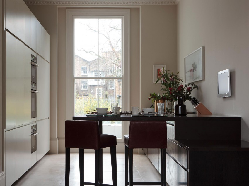 Notting Hill Residence By Staffan Tollgard Design Group - Notting-hill-house-interior-by-staffan-tollgard-design-group