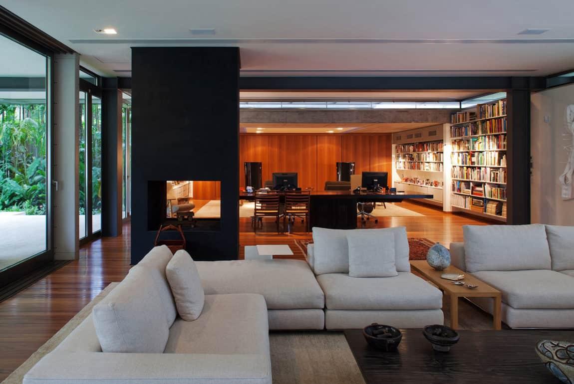 Residencia A.B. by Andrade Morettin Arquitetos Ass. (4)